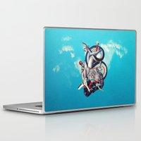 illuminati Laptop & iPad Skins featuring Heart of Illuminati by Eugenia Loli