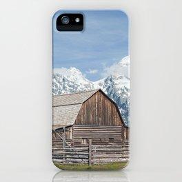 Jackson Row iPhone Case