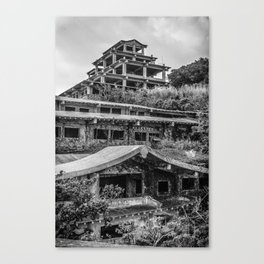 Inner view of the Royal Hotel Canvas Print