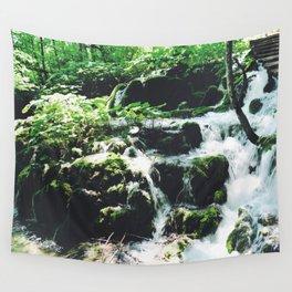 Croatian Waterfall Wall Tapestry