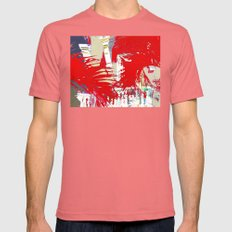 The balcony LARGE Pomegranate Mens Fitted Tee