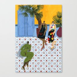 Mara Hoffman Fall 17 Canvas Print