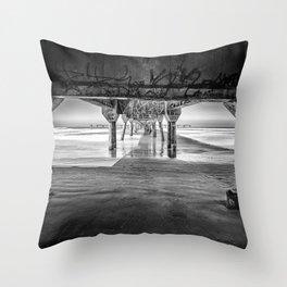 Under the Brigde Throw Pillow