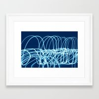 forever young Framed Art Prints featuring forever young by Bunny Noir