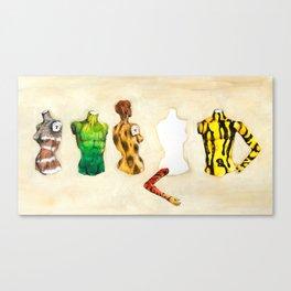 Position vacant Canvas Print