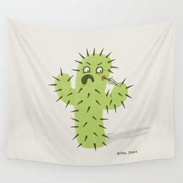 Infected Spine  Wall Tapestry