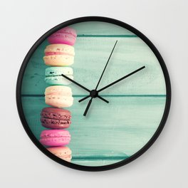 Sweet Fence Wall Clock