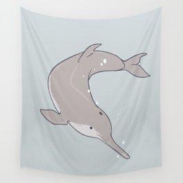 Baiji Dolphin Wall Tapestry