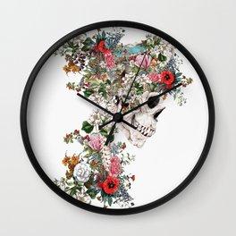 Skull Queen Wall Clock
