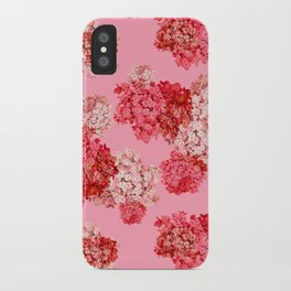hydrangea (doubled) iPhone Case