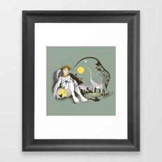 The Time Traveler Framed Art Print