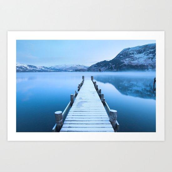 Ullswater Winter Art Print