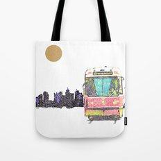 505 Street car Tote Bag