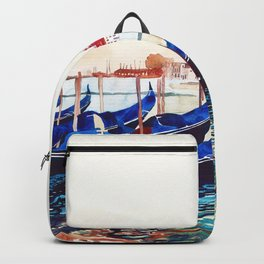 Gondolas in Venice Backpack