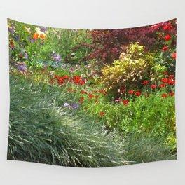 Monet's Garden Wall Tapestry