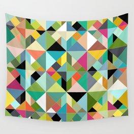tangram geo multi Wall Tapestry