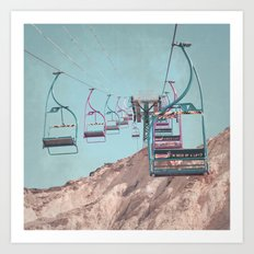 into the sky... Art Print