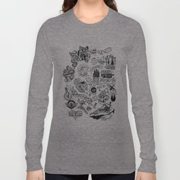 3am Thoughts Club Long Sleeve T-shirt