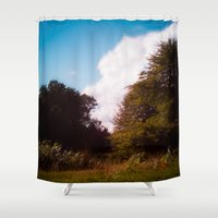 woodland Shower Curtains featuring Woodland by Natural Outlook