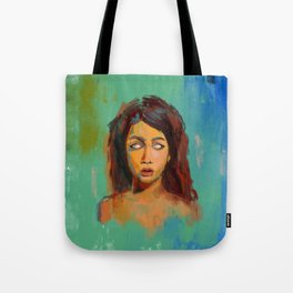 Blind to the Truth Tote Bag