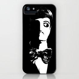Art Deco Man -  Sin City Style iPhone Case