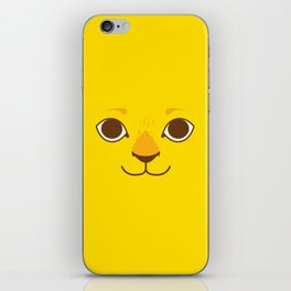 Little Lion iPhone Skin