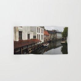 Canal in Brugge Hand & Bath Towel
