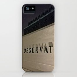 Griffith Observatory at Night iPhone Case