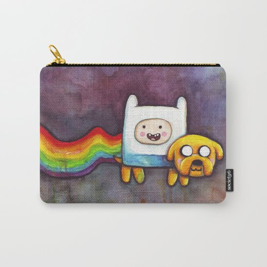 Nyan Time with Jake and Finn Carry-All Pouch