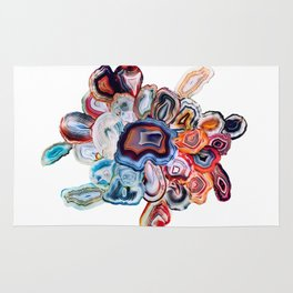 Earth's Loveliness, Agate Collection Rug