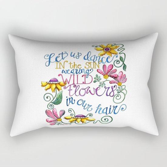 Let Us Dance Rectangular Pillow