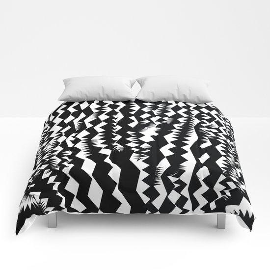 Still Zebra Comforters