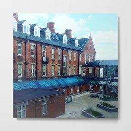 Irish courtyard Metal Print