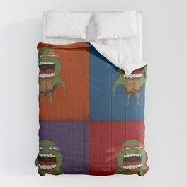 Screaming Turtles Comforters