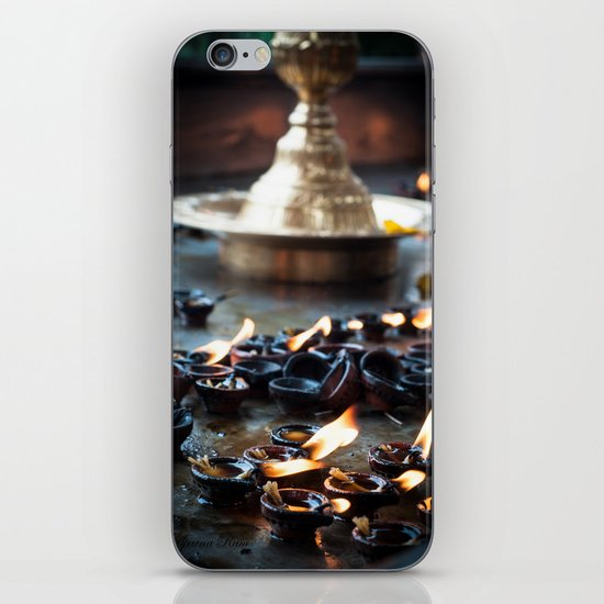 Divine Diyas iPhone & iPod Skin