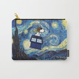 snoopy starry night Carry-All Pouch