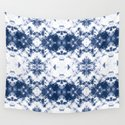 Shibori Tie Dye 3 Indigo Blue by followmeinstead