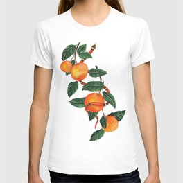Oranges and a snake T-shirt