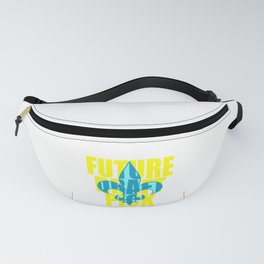 """A Nice Picking Tee For A Picky You Saying """"Future Draft Pick"""" T-shirt Design Fleur-de-lis Fanny Pack"""