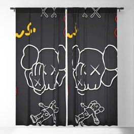 Kaws Bff design 23 Blackout Curtain