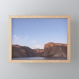 salt river Framed Mini Art Print