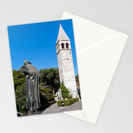 Gregory of Nin statue in Split - Croatia Stationery Cards