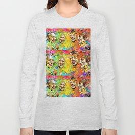 The Stones Pop Art Painting Long Sleeve T-shirt
