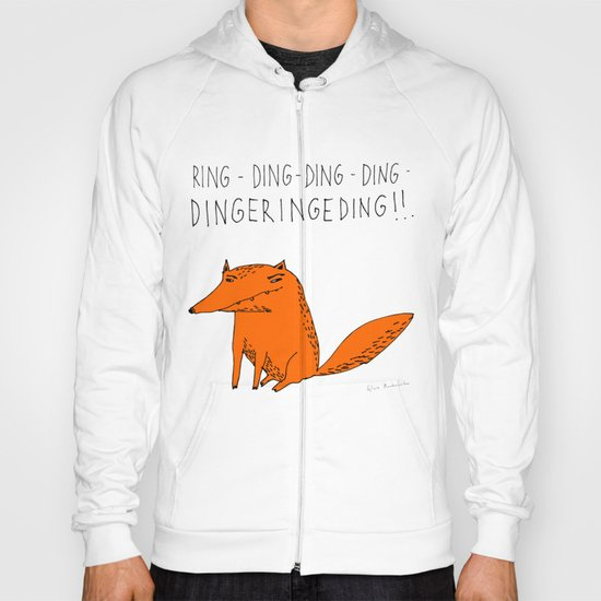 What does the fox say??? Hoody