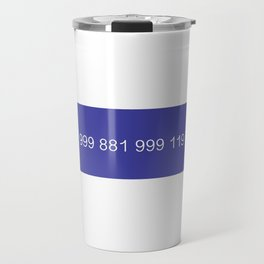 The New Emergency Service Number: 0118 999 881 999 119 7253 - The IT Crowd Travel Mug