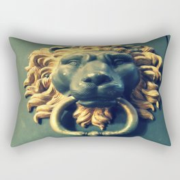 Even if there isn't any Narnia. Rectangular Pillow