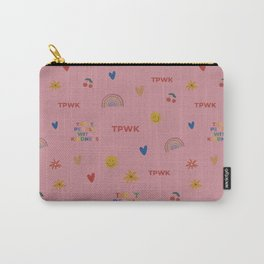 TPWK Patterns (Pink) Carry-All Pouch