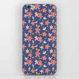 Dancing Florals iPhone Skin