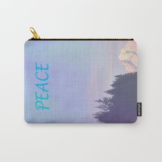 PEACE ON MOUNT HOOD Carry-All Pouch