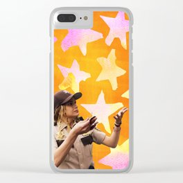 Tina Teventino on S2 Clear iPhone Case